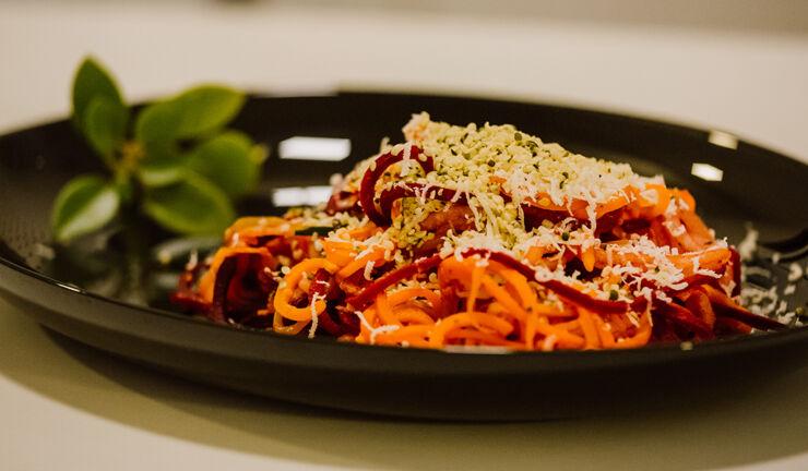 Reteta FIT: Spaghete din legume